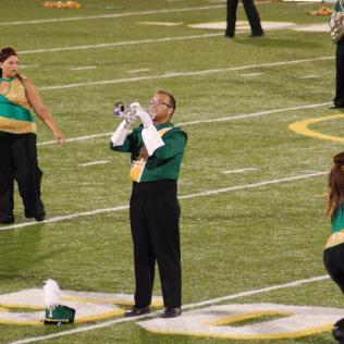 Zach Brown, trumpet soloist, Fall 2015