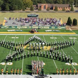 ATU Marching Band, Pre-game Performance, Fall 2015
