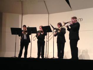 Trombone Ensemble, Kappa Kappa Psi Re-PSI-tal, Fall 2015