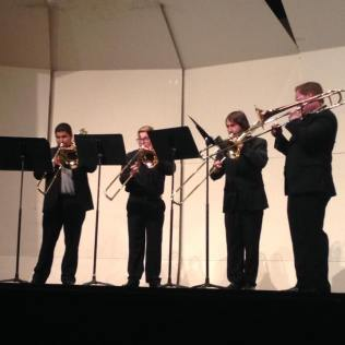 Trombone Ensemble, Kappa Kappa Psi Re-PSI-tal, Fall 2015