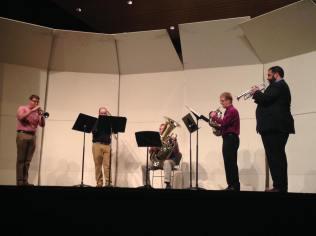 Delta Delta Brass Quintet, Kappa Kappa Psi Re-PSI-tal, Fall 2015