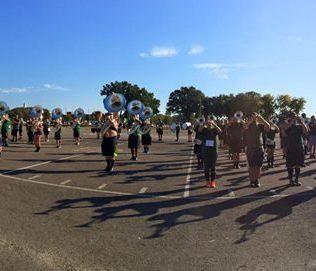 ATU Marching Band Rehearsal, Fall 2015